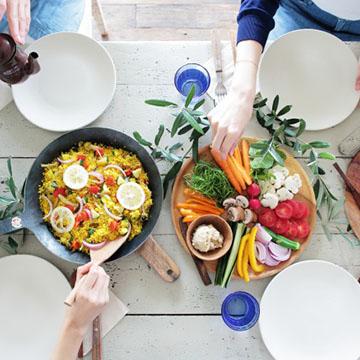 食事と運動の重要性