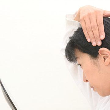 薄毛を促進させる原因!ストレスと抜け毛
