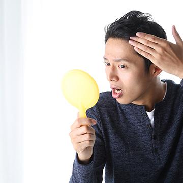 汗と皮脂から髪を守る