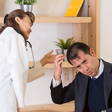 つむじや頭頂部の薄毛の原因と対策方法