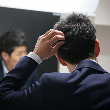 ワックスが原因で薄毛になるの?理由と対策方法