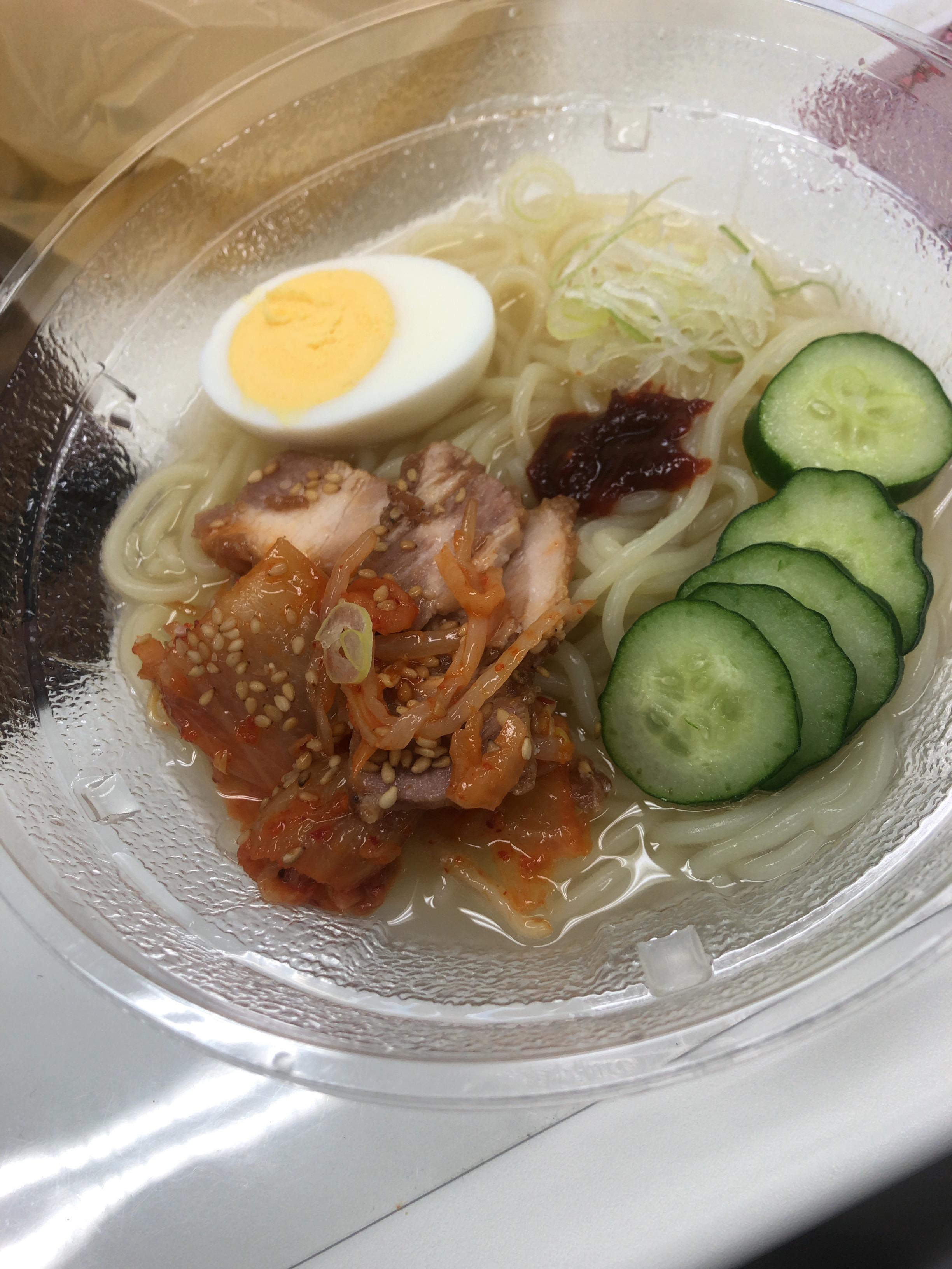 冷麺✖️育毛食!?