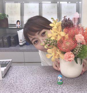 今日のお花 with…