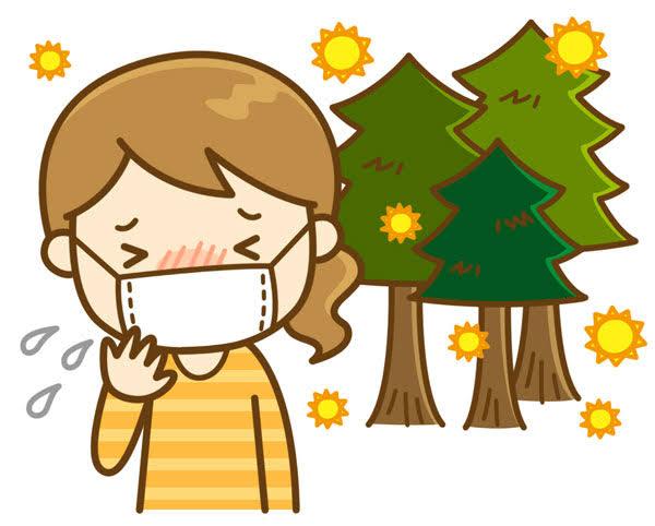花粉の季節⚠