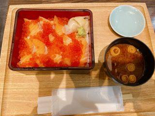 寿司。。サーモン。