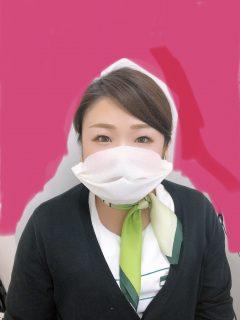 簡易マスク着用のお願い