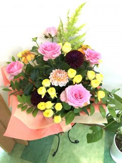 サロンのお花